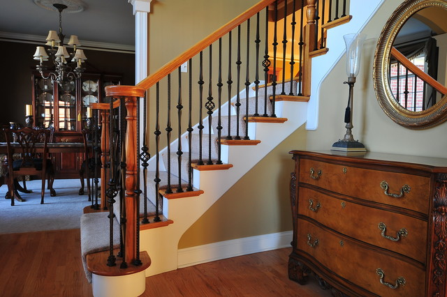 Wrought Iron Baluster Upgrade