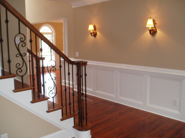 Wrought Iron Balusters traditional-staircase