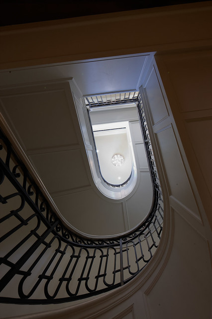Wrought Iron Handrail traditional-staircase