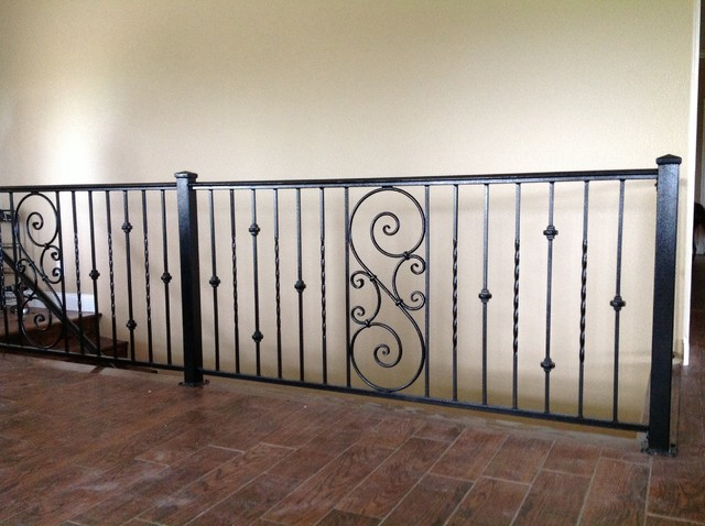Wrought Iron Interior Railing Louisville TN