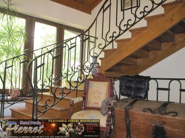 Wrought iron railing - balustrada kuta - 14 traditional-staircase
