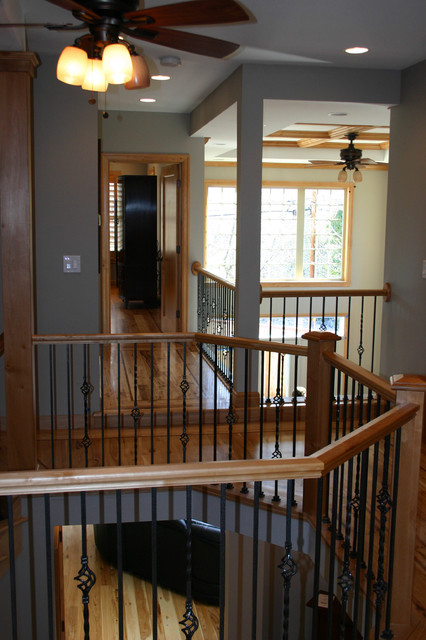 Yale Avenue Remodel traditional-staircase