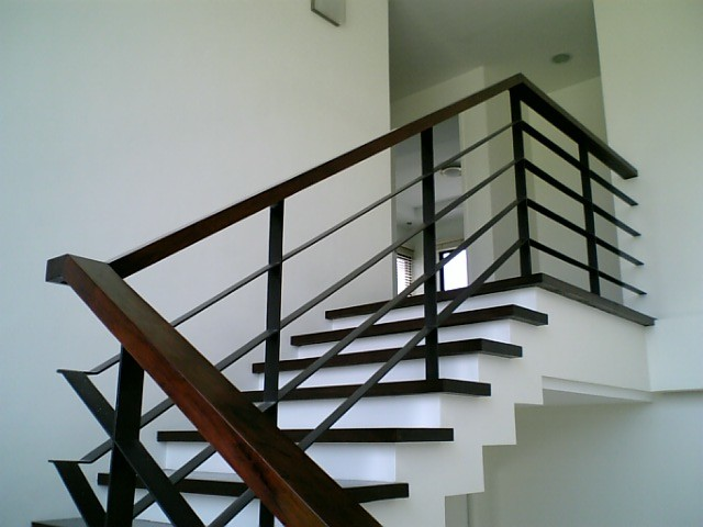 Yee Stair detail contemporary-staircase