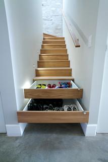 Zen's House - Contemporary - Staircase - Sydney - by Zugai Strudwick Architects