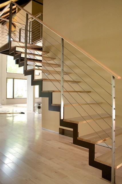ZIG STAIR modern-staircase