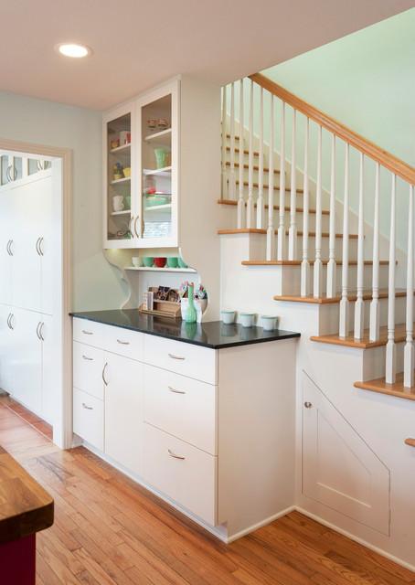 Zilker Kitchen Transitional Staircase Austin By