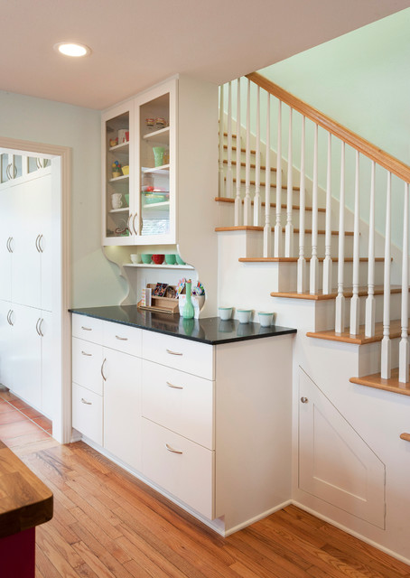 Zilker Kitchen Transitional Staircase Austin By