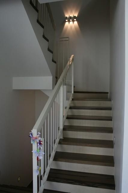 Stairway Sconces Zis Residence