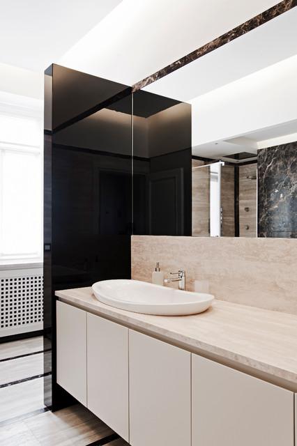 Abitazione privata novara moderno stanza da bagno - Stanze da bagno moderne ...