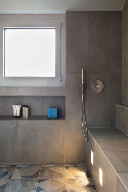 Andrea castrignano una scala per le stelle contemporaneo stanza da bagno milano di - Andrea castrignano bagno ...