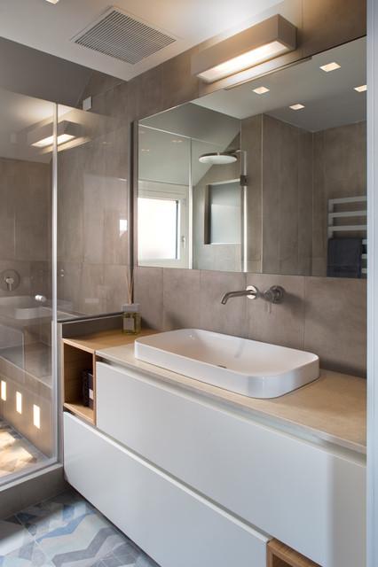 Andrea castrignano una scala per le stelle contemporaneo stanza da bagno milano di - Scala per bagno ...
