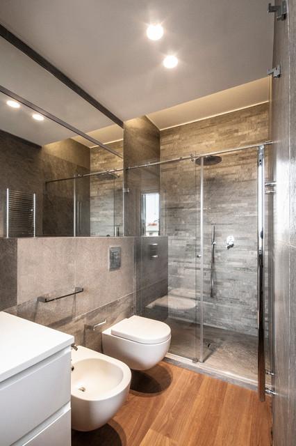 Stampe Parete Camera Da Letto : Appartamento bari contemporaneo stanza da bagno