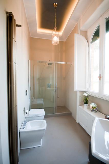 Appartamento fm contemporaneo stanza da bagno roma di 07am architetti - Stanza con bagno privato roma ...