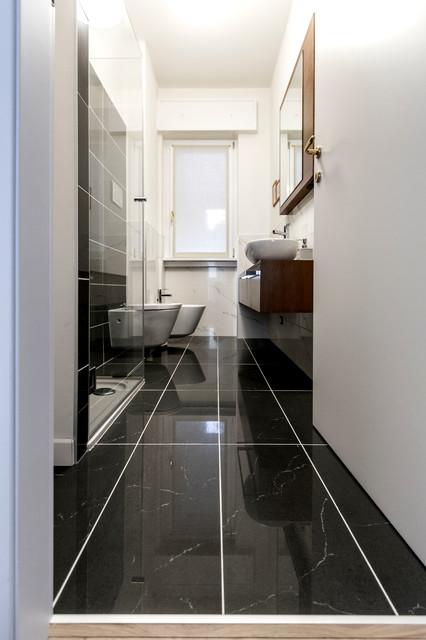 Appartamento residenziale cernobbio moderno stanza - Stanze da bagno moderne ...