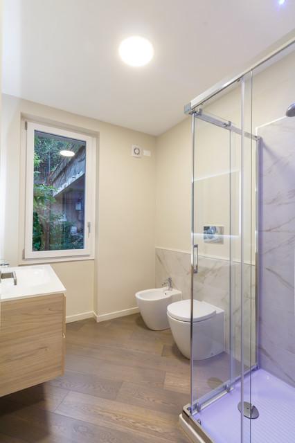 Ristrutturazione appartamento centro storico for Kitchen cabinets 08080