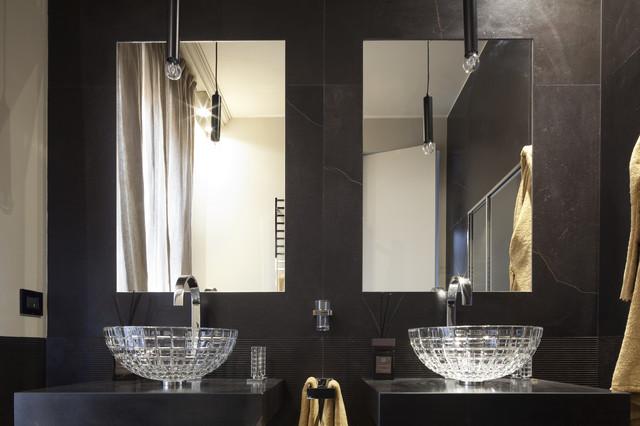 Atelier durini contemporaneo stanza da bagno milano di