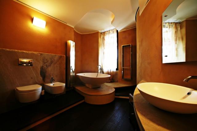 Bagno padronale moderno stanza da bagno milano di - Bagno padronale ...