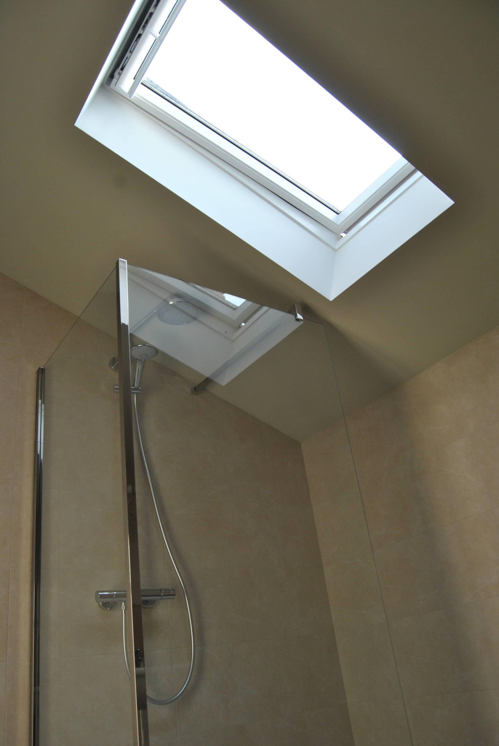 Bagno padronale:dettaglio cabina doccia.