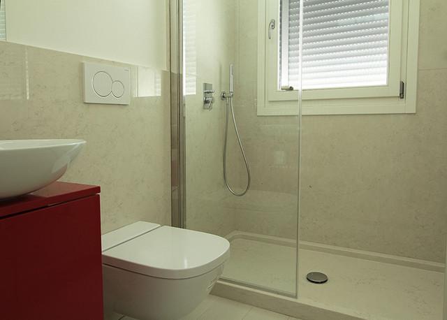 Bagno Rivestimento Pareti Pavimenti Docce Vasca Da Bagno Etc In Marmo Modern Bathroom Venice By Mario Del Savio S N C