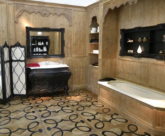 Stanza da bagno in villa francese