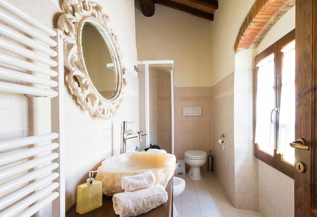 Elegant bathroom in casariccio b b shabby chic style stanza da