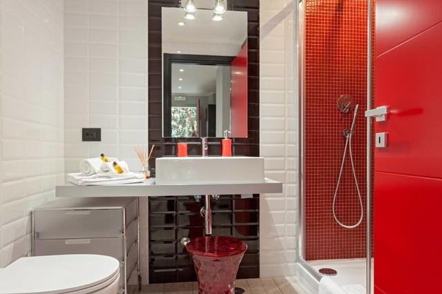 Industrial Loft - Roma industrial-bathroom