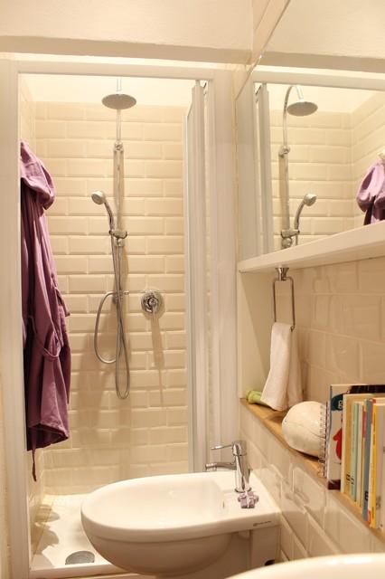 mini loft modern badezimmer mailand von silvana. Black Bedroom Furniture Sets. Home Design Ideas