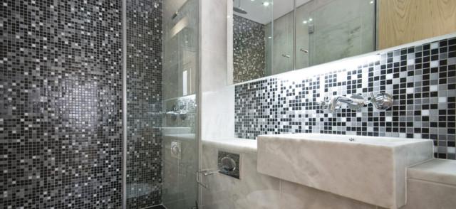 mosaici in marmo e/o vetro - Mosaici Per Bagni Moderni