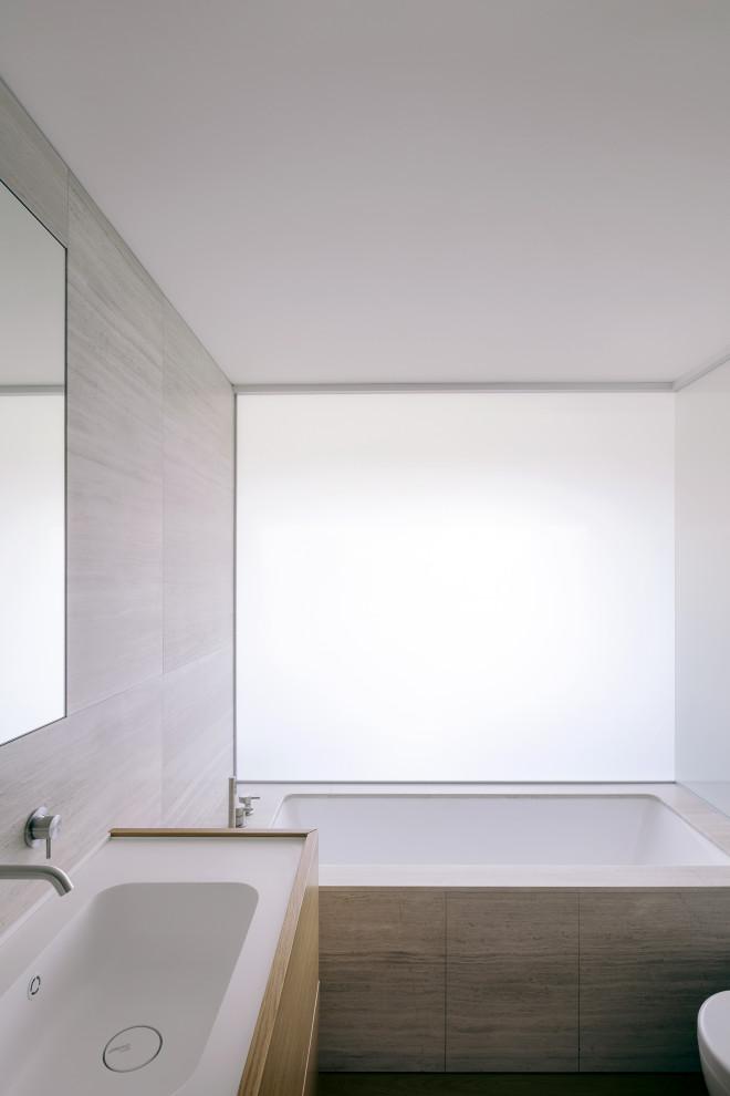 Ispirazione per una stanza da bagno contemporanea