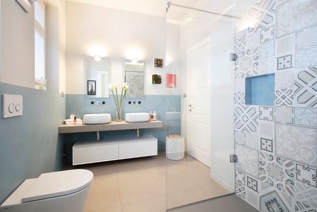 Design Bagno Torino : Po torino contemporaneo stanza da bagno torino di roberta