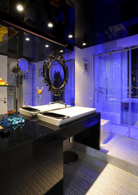 Progetto 01 - bagno contemporaneo-stanza-da-bagno