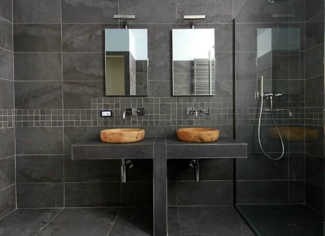 Ceramiche Arredo Bagno Moderno.Realizzazioni Moderno Stanza Da Bagno Torino Di