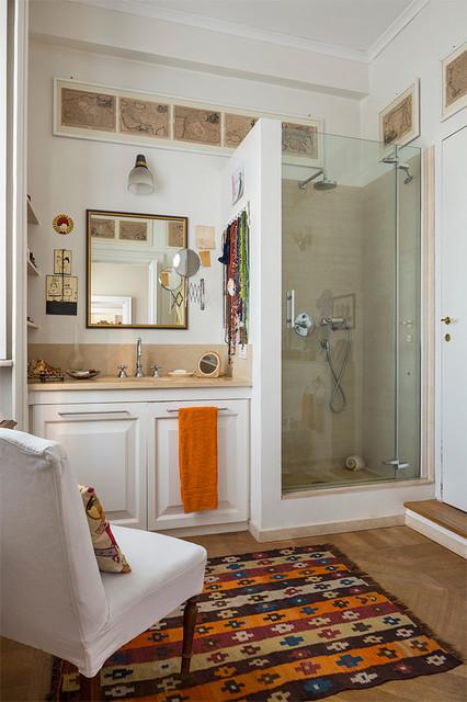 Revere classico stanza da bagno milano di studio for Arredare stanza studio