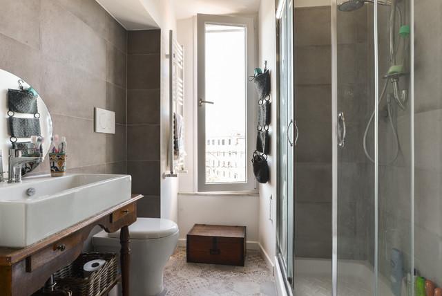 Ristrutturazione appartamento roma porta maggiore for Stanza studio roma
