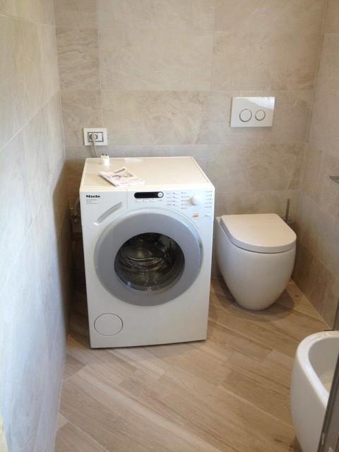 ristrutturazione completa due bagni 11° piano - Verona