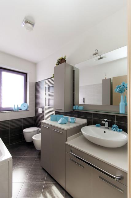 soluzioni arredo bagno - moderno - stanza da bagno - milano - di ... - Soluzioni Bagni Moderni