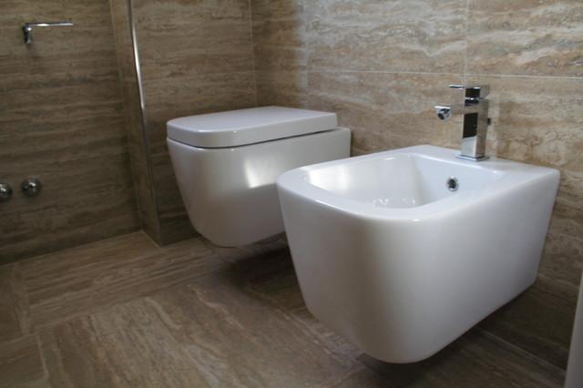 spazio e tempo in via faentina 81 contemporaneo stanza da bagno