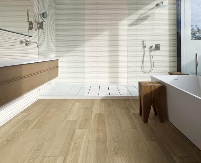 Treverkview contemporaneo stanza da bagno bologna di