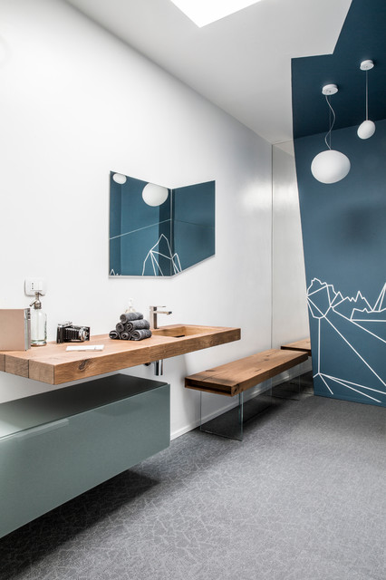 Workspaces lago at work for Lago mobili bagno