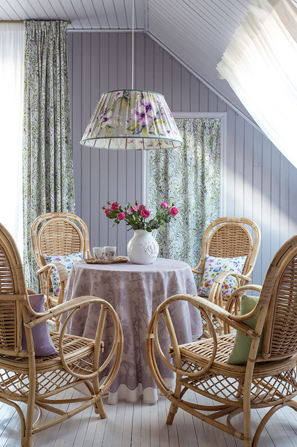 Shabby Chic Style Dining Room Moscow
