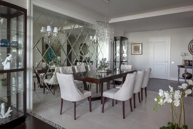 На фото: столовые в классическом стиле