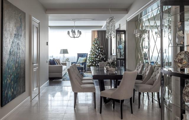 Создайте стильный интерьер: столовая в классическом стиле - последний тренд