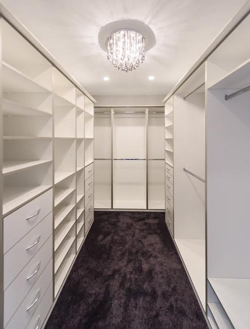 Maribyrnong Walk In Robe - Modern - Closet - Melbourne ...