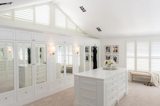 Sorrento Residence beach-style-wardrobe