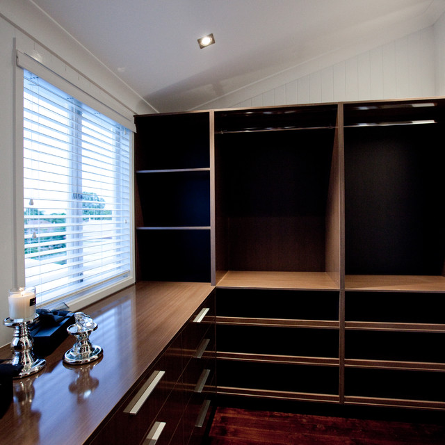 Walk In Robe Contemporary Closet Brisbane By Luisa