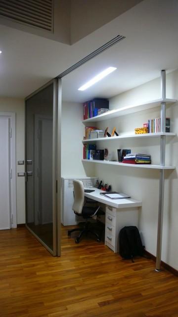 Angolo studio contemporaneo studio roma di antonio for Angolo colazione contemporaneo