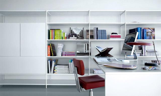 Librerie e pareti attrezzate xy contemporaneo studio for Librerie pareti attrezzate