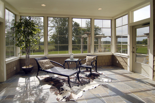3 5 season porch traditional sunroom minneapolis for Cedar sunroom