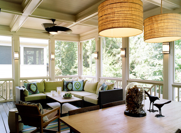 3 Season Room   Bluff Run, Greensboro, NC Contemporary Sunroom