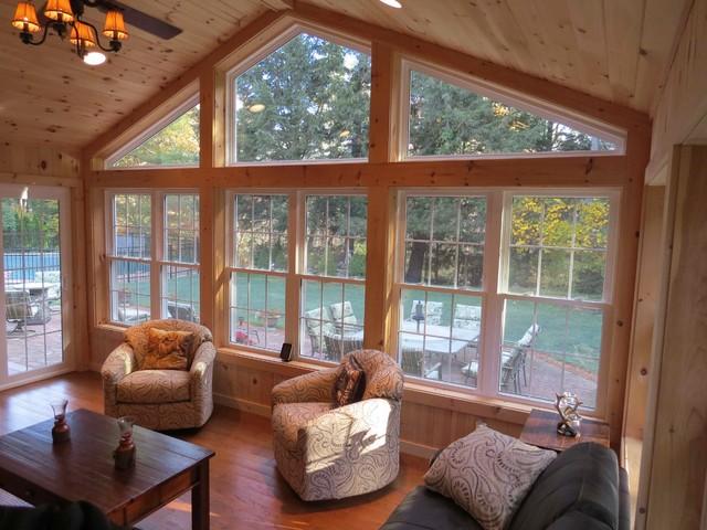 4 Season Sun Room Addition Merrimack Nh Traditional Conservatory